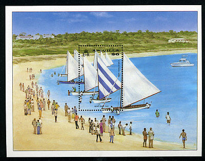 Anguilla Scott #861 MNH S/S Sailing ships on the beach