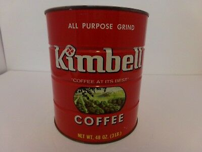 Old Store Stock Kimbell 48oz Coffee Still Sealed.