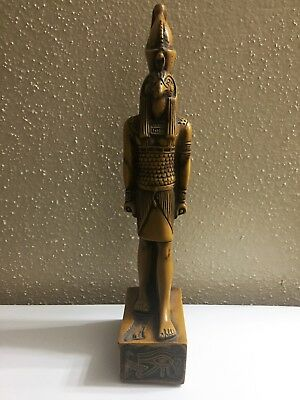 *Ancient Egyptian Falcon God HORUS for Protection Hand carved Statue From Egypt*