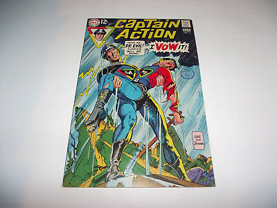 Dc Comic Captain Action #3 1968 High Grade