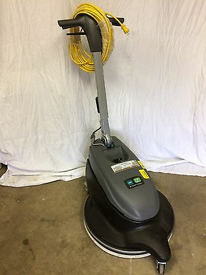 New Floor Buffer Scrubber Burnisher  Dust Control Noble  Model  Br 2,000-Dc