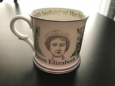 Queen Mother 1900-2000 Fine Bone China Cup by Royal Crown Duchy