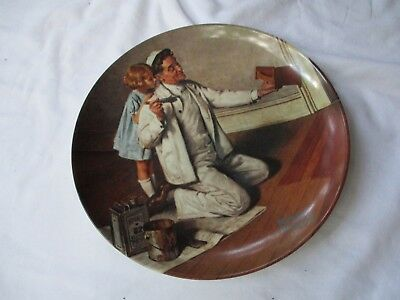Norman Rockwell Collector Plate:  The Painter