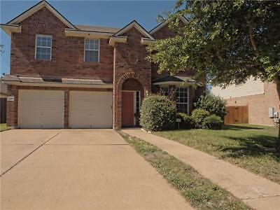 Single Family Home: 4 bedrooms and 2.5 baths, Round Rock, Texas (Austin Suburb)