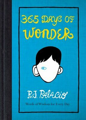 365 Days of Wonder by Palacio, R J Book The Cheap Fast Free Post