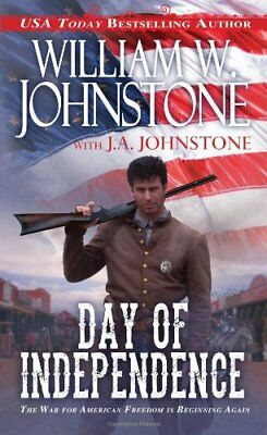 Day of Independence by William W. Johnstone Book The Cheap Fast Free Post
