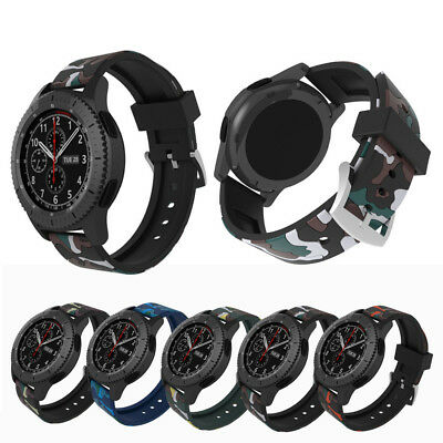 Silicon Wristband Watch Band Bracelet Strap for Samsung Gear S3 Classic Frontier