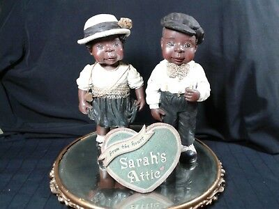 Sarah's Attic Tillie and Willie and Display Sign