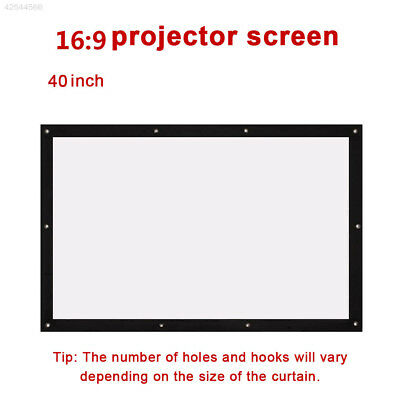 Durable GBD Folded Projection Screen Projector Screen Movie Screen Oudoor