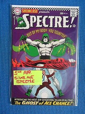 Showcase # 64 - (Vf+) - 5Th App Silver Age Spectre - Ghost Of Ace Chance