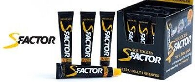 Squidgies S-Factor Fishing Scent 35ml Tube UV Gel Fish Attractant Scent X