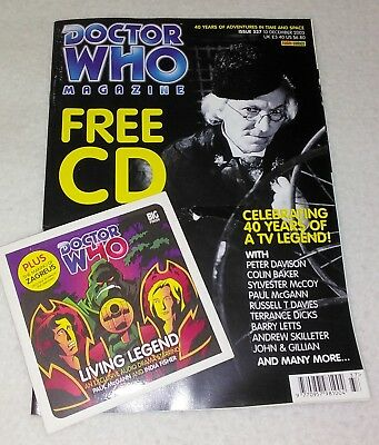 Doctor Who Magazine Issue 337 w/CD (Celebrating 40 Years - Hartnell cover)