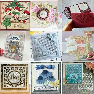 Metal Cutting Dies Stencil Scrapbooking Photo Album Paper Card Gift DIY Die-Cut