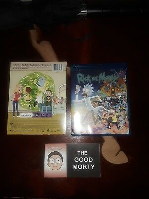 1st Edition Rick and morty season 1 Blue Ray + 1st Staple The Good Morty