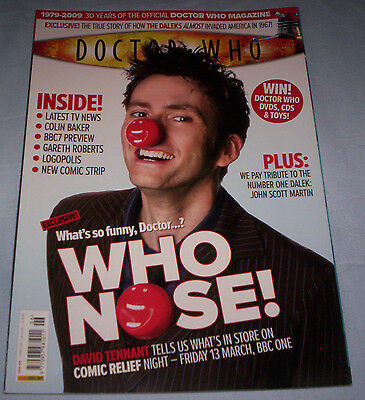 Doctor Who Magazine Issue 406 April 2009 David Tennant Cover