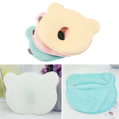 Infant Baby Cot Pillow Prevent Flat Head Memory Foam Cushion Sleeping Support