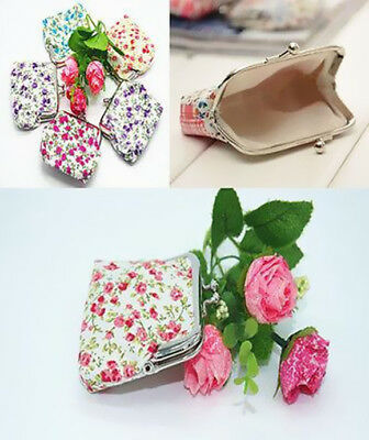 Handbag Charm Clutch Wallet Coin Pouch Bag Hot Garden Key Case Mini Purse Women