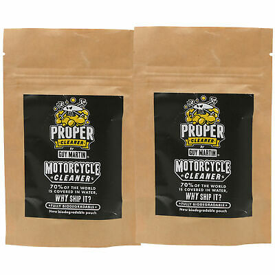 4 x 750ml Capsules Of Proper Cleaner By Guy Martin Motorcycle Cleaner Refill Kit