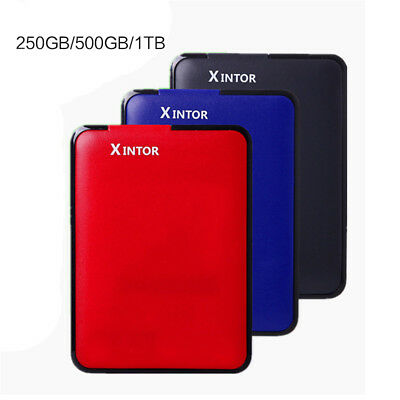 "Brand New 250G 500G 1TB 2.5"" External Portable Hard Drive HDD USB3.0 +Data cable"