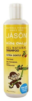 JASON Natural Products - Kids Only Extra Gentle Shampoo - 17.5 fl. oz.