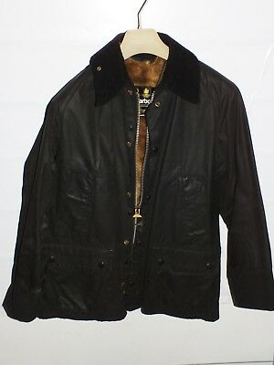 barbour bedale  jacket +inner pile grey   jacke waxed cotton c38-97   s