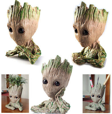 Baby Groot Flowerpot Pen Pot Figure Baby Toy Birthday Christmas Xmas Gifts New