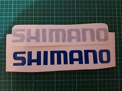 Shimano fishing decals/stickers
