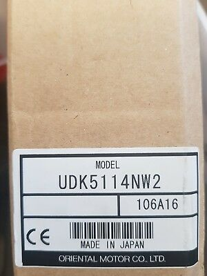 New Oriental Motor Driver Udk5114Nw2. Fedex Or Tracked Shipping