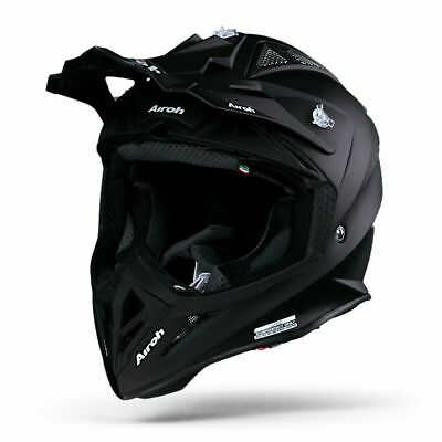 Airoh Aviator 2.2 Matte Black Motorcycle Helmet - New! Free P&P!
