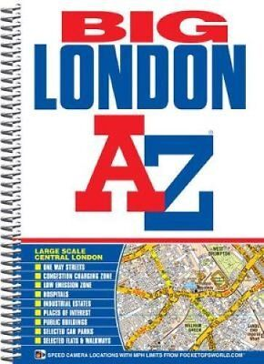 Big London Street Atlas by Geographers' A-Z Map Company 9781843485797