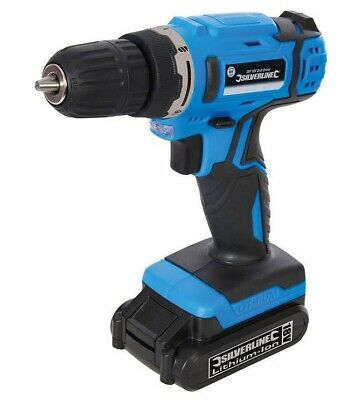 18V CORDLESS LITHIUM POWER DRILL DRIVER ELECTRIC SCREWDRIVER c/w 3 YEAR WARRANTY