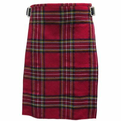 Tartanista - Kilt scozzese 4,6m 280g (5 Yard 10(UK48 (122 cm) Royal Stewart)