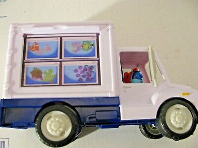 Disney Finding Dory Toy Marine Life Institute Fish Aquarium Truck Nemo 8""