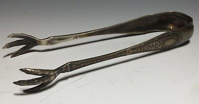 Whiting Laureate Sterling Silver Sugar Tongs