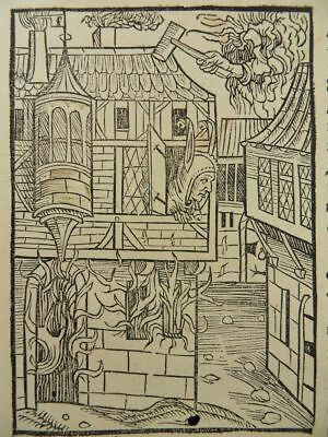 Ship Of Fools Incunable Woodcut 1494 Haintz Narr Meister Fortune Narrenschiff
