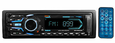 Boss MR1308UABK Marine Boat Digital Media Receiver w/Bluetooth/MP3/USB/SD/AUX