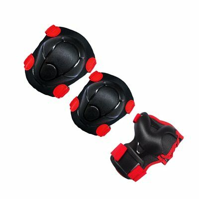 6pcs Child Skate Protective Gear Kneepads Elbow Pads Wrist Guards for Skating EC