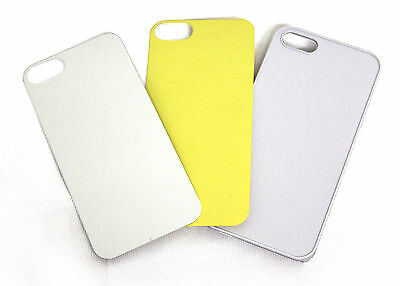 10 Hard White Blank iPhone 5 Custodia/ Cover in for Heat Sublimation Printing