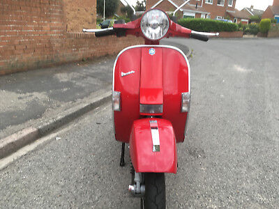 vespa piaggio px200  2 owners mot july 2019  runs/rides solid scooter