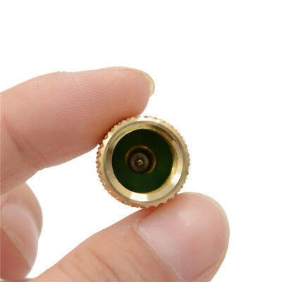 """1x ACME A/C R134a Brass Fitting Adapter 1/4"""" Male To 1/2"""" Female Valve Core QP"""
