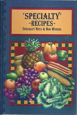 Middletown De 2001 Specialty Nets & Non Wovens Recipes Cookbook Delaware Recipes