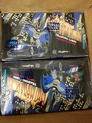 1995 Skybox The Adventures of Batman and Robin Unopened Box Collectible