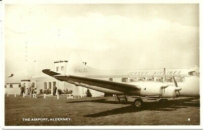 Guernsey, Alderney, The Airport. Real photographic