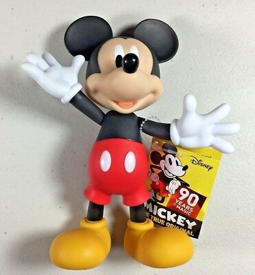 MICKEY MOUSE True Original Poseable Figure 90 Years of Magic 90th Anniversary
