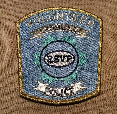 MI Lowell Michigan Volunteer Police Patch