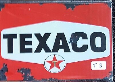 Texaco Motor Oil Metal Tin Signs Bar Shed & Man Cave Signs AU Seller