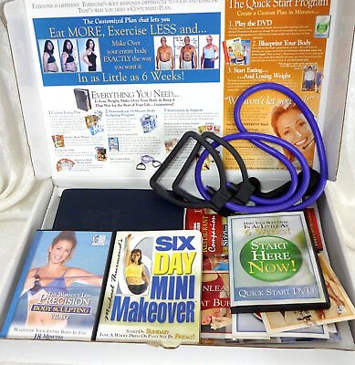 Michael Thurmonds Six 6 Week Body Makeover Weight Loss DVD Program Provida Set