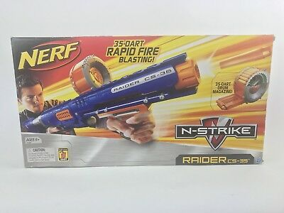 Hasbro Nerf N-Strike Raider Rapid Fire CS-35 Dart Blaster Retired