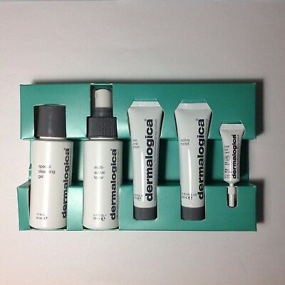 Dermalogica normal/oily skin kit, 5pc. travel size. BRAND NEW FREE SHIPPING