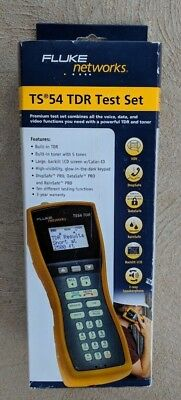 NEW  Fluke Networks TS54-A-09-TDR Test Set + TDR, ABN with Piercing Pin
